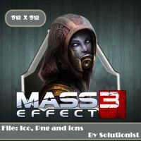 Mass Effect 3 Featuring Tali by Solutionist