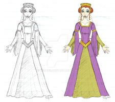 Lily Maid--Guinevere Concept by Keah59
