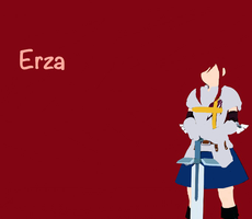 Erza wallpaper by ElodieTheFox051400