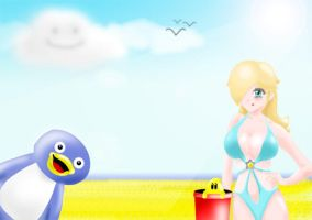 Fun in the Sun with Rosalina by deep4t