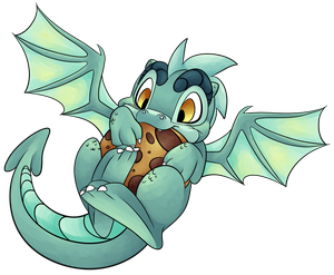 Cookie Dragon by CutePencilCase