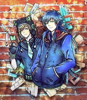 Beta!Noiz and Sly Blue - Rhyme Time DMmd - by KiraiRei
