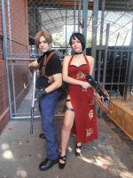Resident Evil 4 - Leon and Ada Wong by erickzeros