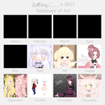 2012 Art Summary Meme by AmaiCandy