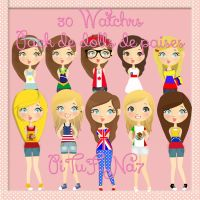 Pack de dolls de paises ZIP by PiTuFiNa7