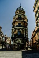 Leaning Tower Of Seville by JDLStudios