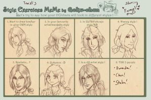 Style Exercise Meme- Farael by temiel