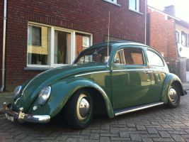 1960 RAGTOP VW BUG by RoyLeijten