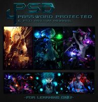 PSD Pack #4 by Madam-Shyarly