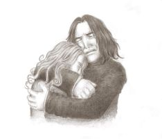 Severus and Lily by Harryzon
