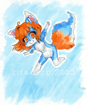 CHIBI: Leap in The Air by Kita-Angel