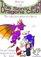 Sonic and Dragons Club ID by Catdragon