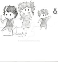 Sweeney Todd, Lovett and Toby by AsaRawr