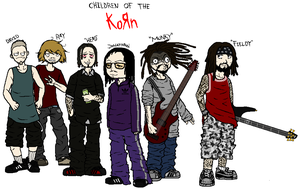 Children Of The KoRn by maxviolence