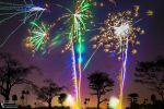 Fireworks in Thamesmead Park 2013.10.30 by TMProjection