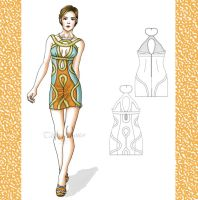 fashion dress by Tania-S