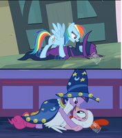 Pinkie Pie gets pounced by fine ponies everytime by 8feet