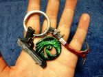 tomb raider keychain by hiropon056