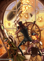 Uber Rpg Steampunk cover 3 by JMayura