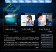 Alliant infosys tempate 04 by drmaxmad
