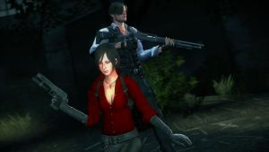 Ada and Leon (RE6) by FancehWayfarer