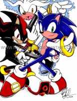 Sonic-Three of a kind by NinjaHaku21