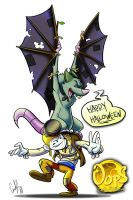 An Oops Halloween 2014 by Gingco