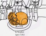 Klunk the Cat by ScoopGirl
