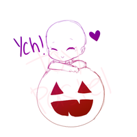 YCH Pumpkin Lean Auction (closed) by ToyPastel
