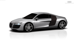 iPhone iPad Audi R8 by modernaesthetic