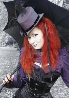Victorian Gothic Lady 2 by MADmoiselleMeli