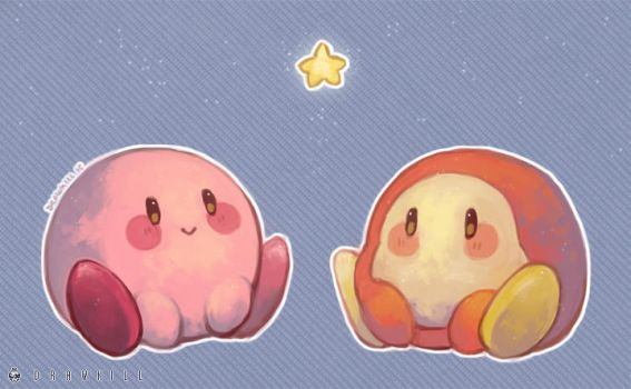 Kirby's Star by DrawKill