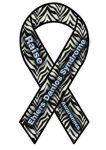 Ehlers Danlos Syndrome Awareness Ribbon by aliwelles