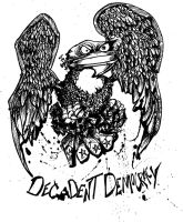 decadent democracy eagle shirt by sketchoo