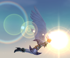 Flying with the Sun by Rose025