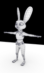 Judy Hopps Wire Frame by Epiphany347