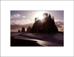Rialto Beach sunset by AcousticAlchemy