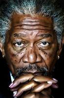 Morgan Freeman by donvito62