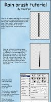 .: DP's rain brush tutorial :. by DevaPein
