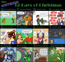 Nintendo 12 Days of Christmas by Kishmet