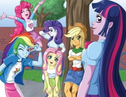 Equestria Girls by Shouhda