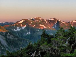 Dusk in the high country by Glacierman54