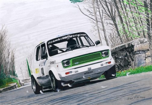 Fiat 127 rally by klem