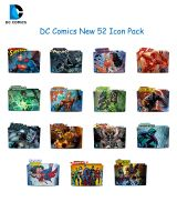 DC Comics New52 Icon Pack by Rego1993
