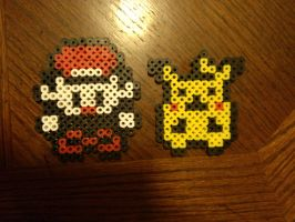 Pokemon Bead Sprites by 8bitsofawesome