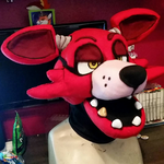 FNaF Foxy Head by CowSprite