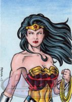 Wonder Woman Sketch Card 3 by tonyperna