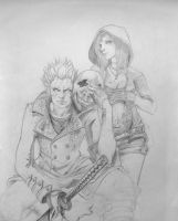 Vergil and Kat by titete