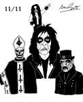 Shock Rock Tribute (National Metal Day) by DrQArt