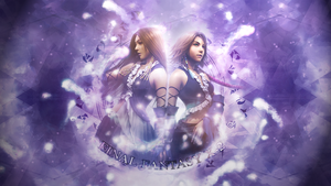 Wallpaper - Yuna and Lenne by Soihra